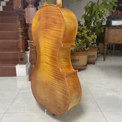 Rare Professional Song Master Cello 4/4 Hand Madehuge And Powerful Sound