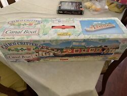Sylvanian Families Calico Critters Waterside Canal Boat 2011 Retired