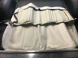 Pui Interiors 71 72 Chevy K5 Blazer Rear Seat Cover Upper Lower Off White New