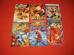 The Flash Lightning In A Bottle Rebirth Rogues Flashpoint X6 Tpb Graphic Novel
