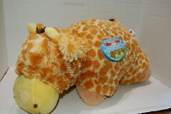 PILLOW PETS Large 18quot; Giraffe Fold able Plush Pillow Stuffed Animal Toy W Tags