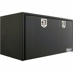 Buyers Products 1704310 Toolbox 24x24x48 2 Sst T-hdl Black