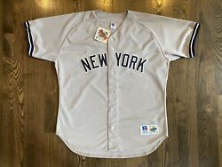 Nwt Russell Authentic Mariano Rivera 42 New York Ny Yankees Jersey 48 Xl