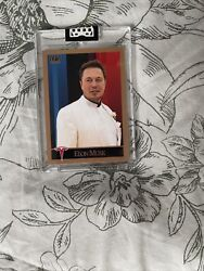 2021 G.a.s. Elon Musk Rookie Card Order Confirmed Sold Out Invest