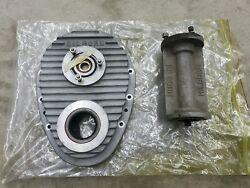 Nos Hilborn Timing Cover Pdc-4 Chevy 327 350 And Pde-1-1 Extension