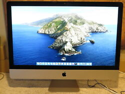 Late 2013 Apple Imac Me088ll/a 27 I5 3.2ghz 16gb 1tb Flash + Free Ship - Read