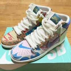 Sale Men 9.0us Nike Sb Dunk High Thomas Campbell From Japan Fedex No.4553