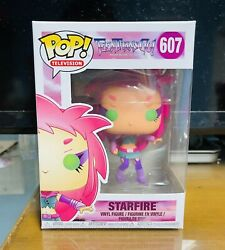Funko Pop Television Teen Titans Go Starfire 607 Retired Vaulted. A+seller.