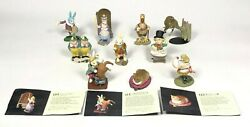 Kaiyodo Alice In Wonderland Tea Party 10 Piece/set From Japan Free Shipping F/s