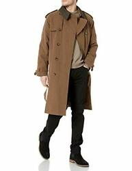 London Fog Mens Iconic Double Breasted Trench Coat - Choose Sz/color
