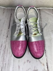 Nycole St. Louis Women#x27;s Golf Shoes Cleats 6 B $30.00