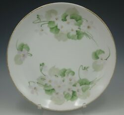 Hutschenreuther Antique Hand Painted Floral Plate