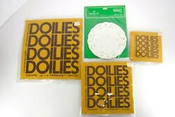 Vintage Lace Paper Doilies Merry Thoughts Hallmark Lot Of 105 Party Crafts White
