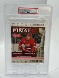 Pittsburgh Penguins 2009 Crosby Stanley Cup Gm 7 Red Wings Ticket Stub Tickets