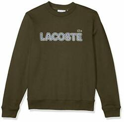 Lacoste Mens Long Sleeve Brushed Fleece Tattersall - Choose Sz/color