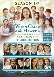 When Calls The Heart Complete Dvd 78 Movie Episodes Series Seasons 1 2 3 4 5 6 7
