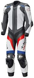 Motorcycle Held One-piece Sport Leathers Race-evo 2 In Blue/red/white Size 46