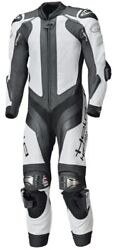 Motorcycle Held One-piece Sport Leather Suit Race-evo 2 In Black/white Size 58