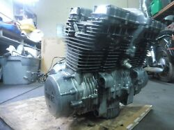 1977 Yamaha Xs1100 2h7 Ym149-1. Engine Motor Good Compression