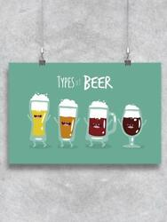 Types Of Beer. Poster -image By Shutterstock
