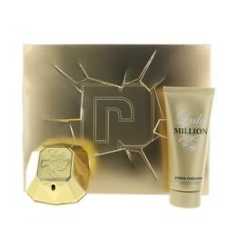Paco 1 Million By Paco Rabanne 2.7 Oz Edp Spray 2 Piece New Gift Set For Women