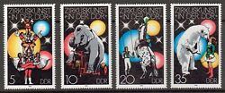 Germany/ddr - 1978 Sc. 1952-1955 Circus In The Ddr