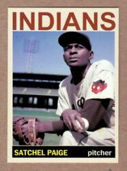 Satchel Paige #x27;48 Cleveland Indians Monarch Corona Private Stock #18 NM cond $7.99
