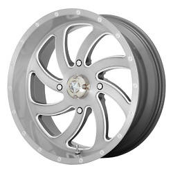 22 Inch 4x137 4 Wheels Rims Msa Offroad Wheels M36 Switch 22x7 +0mm Brushed