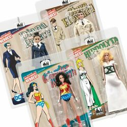 Wonder Woman Retro 8 Inch Action Figure Series 3 Set Of All 4