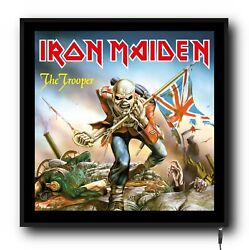 Iron Maiden Truck Cab 24/12v Interior Led Sign Illuminated Dimmer Board Lorry