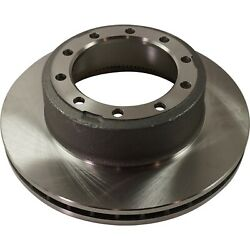 Disc Brake Rotor For 2007-2020 Ford F53 Rear Driver Or Passenger Side Solid 1 Pc