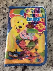 Nos Vintage Lisa Frank Casey And Caymus Mini Binder Stationery Zip Ups-stickers