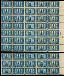 Us 619 5c Lexington-concord And039minute Manand039. Mnh F-vf Scv 1300 As Singles