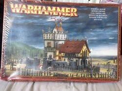 Warhammer-empire-scenery-fortified Manor-sealed In Box-plastic