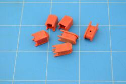 Miniature Diorama Train Layout Accessory Small Mail Boxes Garbage Can Containers