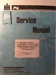 International 582 Special 682 782 982 Cub Cadet Chassisandimplement Service Manual