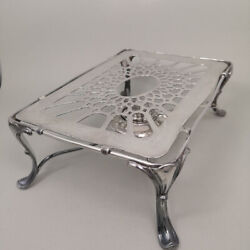 Antique Food Warmer In Solid Silver 925 From Hanover