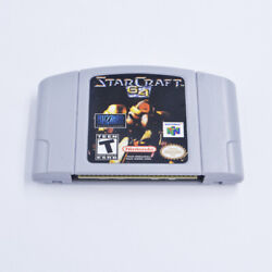 Fit For N64 Game Starcraft 64 N64 Fast/free Shipping