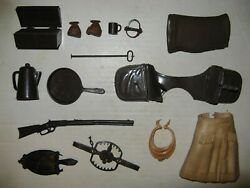 Marx Vintage 12andrdquo 1965 - 1969 Best Of The West Cowboy Accessories