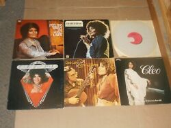 CLEO LAINE lot 6x LP feel the warm FAMOUS SHOW HITS best friends EVENING friday $15.99