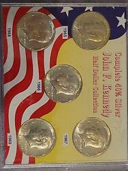 Complete 40 Silver John F Kennedy Half Dollar Collection Unopened Sku 1002