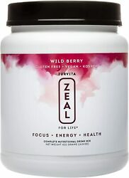 Zeal For Life 30-day Wellness Canister 420 Grams Wild Berry Gluten Free