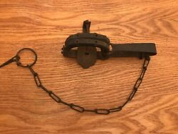 Cush In Grip Charles Briddell 1 Long Sp Newhouse Very Rare Vintage Antique Trap