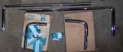 Nos Gm 1970 Oldsmobile Cutlass Eyebrow And Grill Moldings 230931 404689 442 Olds