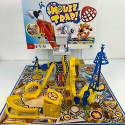 Mouse Trap Flushing Toilet Edition Board Game Hasbro 2009 100 Complete Set
