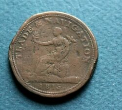 Trade And Navigation One Penny Canada Token 1815