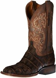 Lucchese Mens Malcolm Alligator Round Toe Western - Choose Sz/color