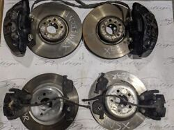 Calipers Rotors Front Rear Left Right 10-14 Bmw X6m X5m S63 Oem
