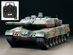 Tamiya German Leopard 2 A6 Main Battle Tank Full Operation Rtr Built And Painted