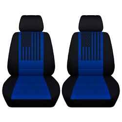Truck Seat Covers Fits 2007 To 2021 Chevy Suburban American Flag Variety Colors